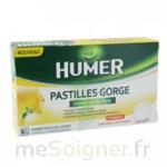 Acheter HUMER PASTILLE GORGE à l'etrait sec de thym 24 pastilles à Bressuire